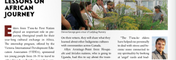 2016 – VIDEA Youth engage over 120,000 Canadians